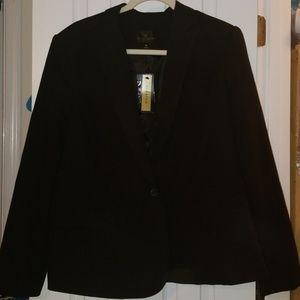 Worthington Black Career Jacket Suut Coat